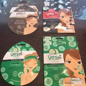 Other - Bundle of 7 YES TO face masks